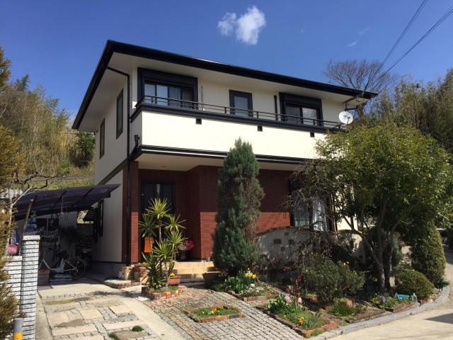 兵庫県洲本市Y様邸 外壁塗装 実績豊富な中山コーティング