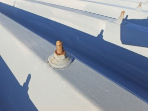折半屋根 ボトル錆 徳島市の塗装