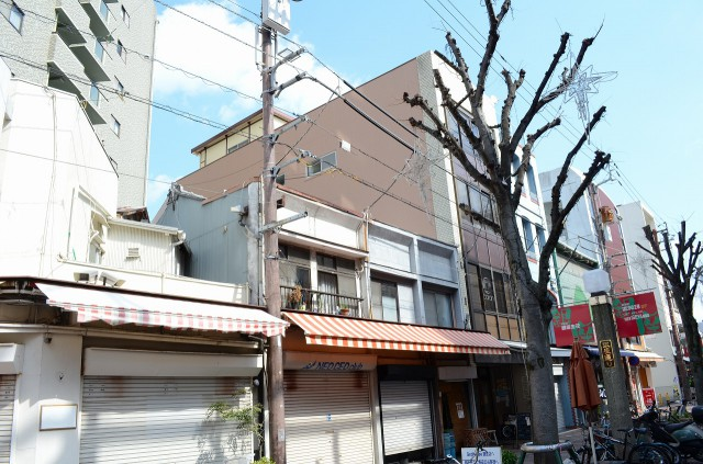徳島市ALC五階建て構造シリコン塗装