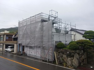 兵庫県南あわじ市O様邸 外壁塗装・陸屋根防水工事