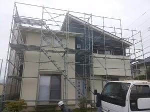 徳島県板野郡藍住W様邸 外壁光触媒