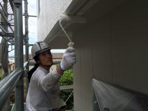 日本ペイント 標準色ND370パーフェクトトップ 兵庫県南あわじ市