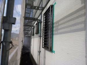 徳島県板野郡藍住W様邸 塗装前コーキング