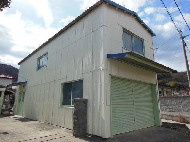 徳島県鳴門市 平岡養蜂園様邸 倉庫 遮熱シリコン