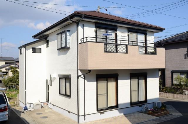 徳島県徳島市八万S様邸 屋根外壁塗装 フッ素プラン