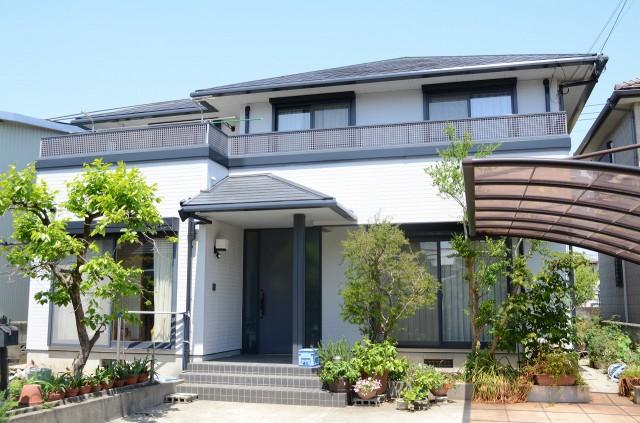 徳島県 板野郡 藍住 外壁塗替え 屋根塗替え T様邸
