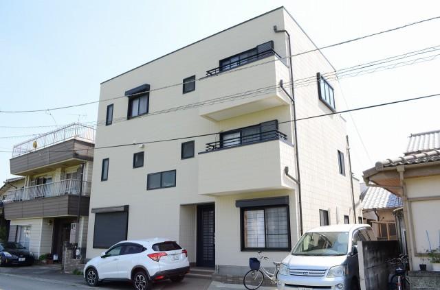 徳島県徳島市 川崎様邸 断熱/遮熱塗装 ガイナ