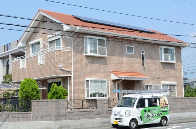 徳島県 板野郡 外壁クリヤー塗装 屋根無機塗装