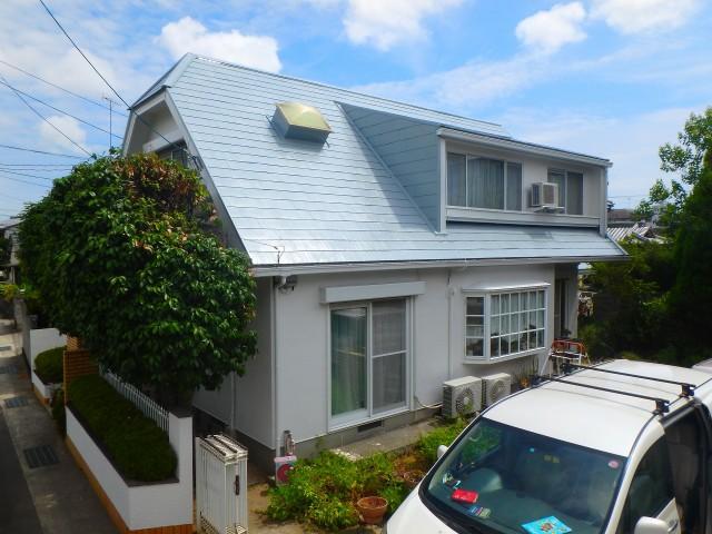 徳島県 徳島市 住宅塗装 屋根外壁 S様邸