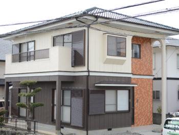 板野郡松茂 M様邸 外壁・屋根塗装事例