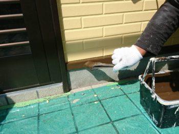 阿南市 羽ノ浦町 シャッターボックス 外壁塗装 中山コーティング