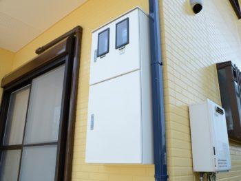 阿南市 羽ノ浦町 外壁塗装 中山コーティング シャッターボックス メーターボックス