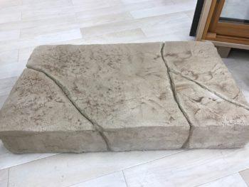 徳島県 スタンプコンクリート モルタル造形