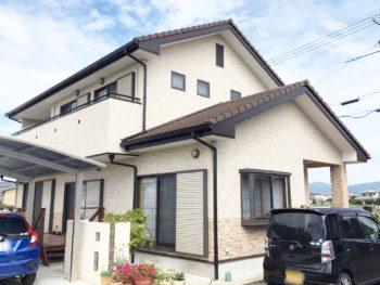 徳島県 名西郡石井町 コーキング打ち替え・付帯塗装 H様邸
