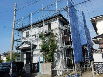 徳島市 外壁屋根塗装 T様邸 本日はコーキング打ち替え
