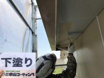 軒天井 中山コーティング 阿南市 屋根塗装