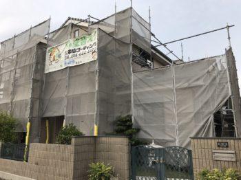 鳴門市 外壁ファインパーフェクトトップ塗装 H様邸