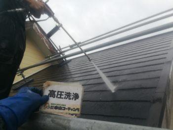 徳島市外壁屋根無機塗装 K様邸
