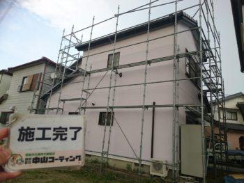 徳島市 外壁屋根塗り替え T様邸 自社検査やタッチアップ作業などを行い