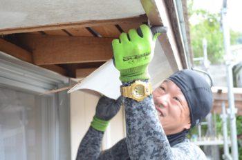 徳島市 外壁塗装 軒天井張り替え Y様邸