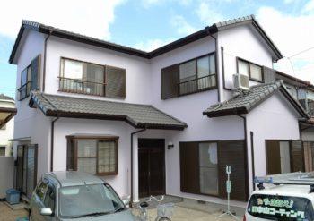 富田様 徳島市 外壁塗装 屋根塗装 完工