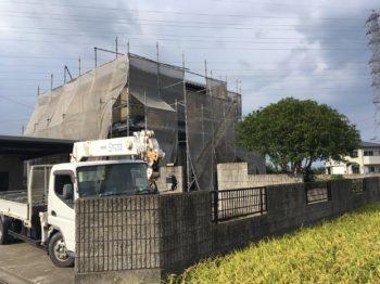 徳島市 外壁ダイヤカレイド塗装 U様邸
