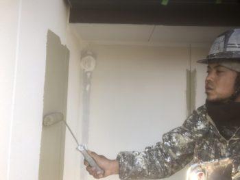 徳島 中山コーティング 塗り分け 外装 外壁塗装