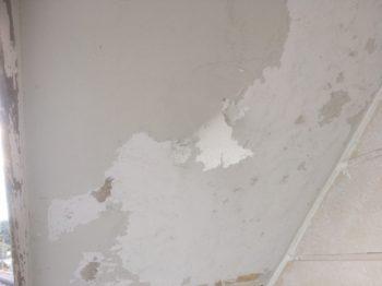 徳島市 外装リフォーム K様邸 下地作業や外装下塗り作業