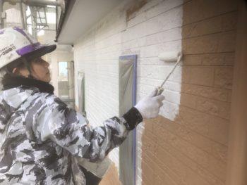 徳島 外壁塗装 中山コーティング 塗り分け 外装
