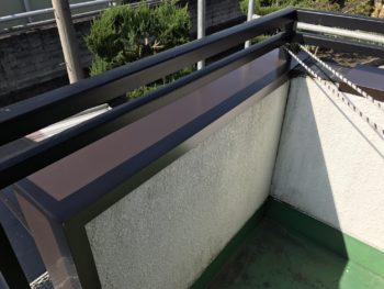 徳島県阿波市 大工工事リフォーム 笠木板金カバー工法 K様邸