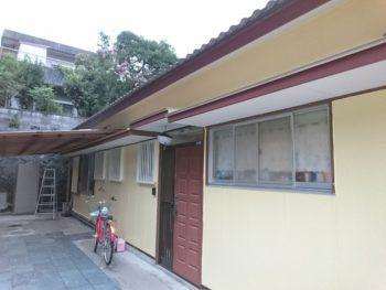 徳島市 板金工事 住宅塗装 Y様邸