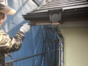 徳島 外壁塗装 中山コーティング 外装 塗り分け