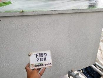 鳴門市 外壁塗装 M様邸 外壁下塗