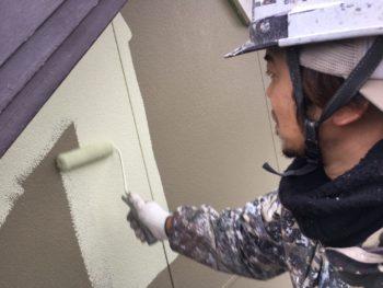 外壁塗装 中山コーティング 塗り分け 外装 徳島