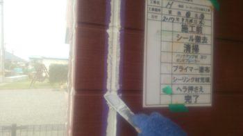 吉野川市 住宅塗装 H様邸 コーキング打ち替え