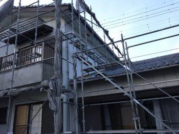 鳴門市 瓦漆喰工事・住宅塗装 M様邸