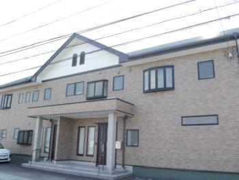 外壁3分艶クリヤー塗装(透明)・屋根濃グレー色塗装 徳島市 梅津様