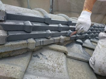 徳島市 外壁屋根塗りかえ K様邸 屋上ウレタン塗膜防水
