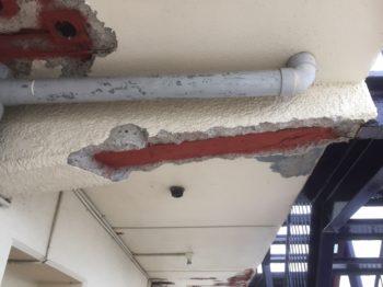 マンション 徳島市 爆裂補修