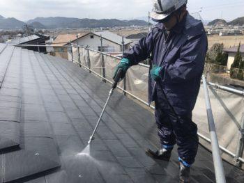 徳島 外壁塗装 外装リフォーム 中山コーティング ガイソーパワークリーナー