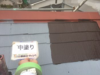 徳島市 住宅塗装 K様邸 屋根塗装