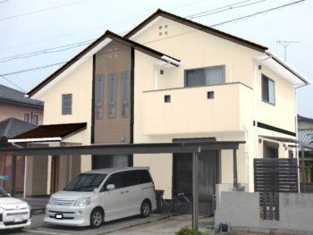 吉野川市 屋根外壁塗装 H様邸