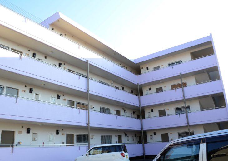 徳島市 マンション(アパート)外壁塗装・防水 シャトレ徳島様