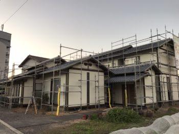 徳島市 外壁・木部塗装 T様邸 パーフェクトセラミックトップG(無機)