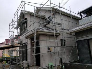 兵庫県南あわじ市 外壁張り替えガルバリウム鋼板 Kスパン A様邸
