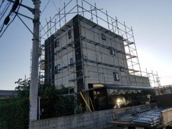 徳島県徳島市 コンクリート打ちっぱなし塗装(コンクリー再現工法)
