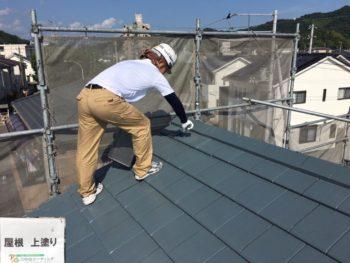 屋根塗装 徳島 塗装 中山コーティング 無機