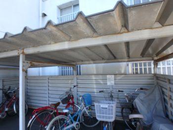 マンション 改修工事 徳島 中山コーティング 駐輪場