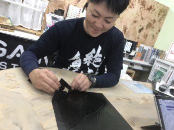 ステンシル塗装 徳島 中山コーティング