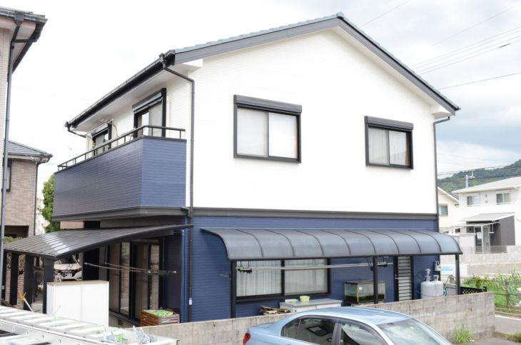 徳島市 屋根塗装 外壁塗装 幕板取り付け S様